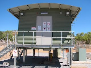 High Voltage Control Building